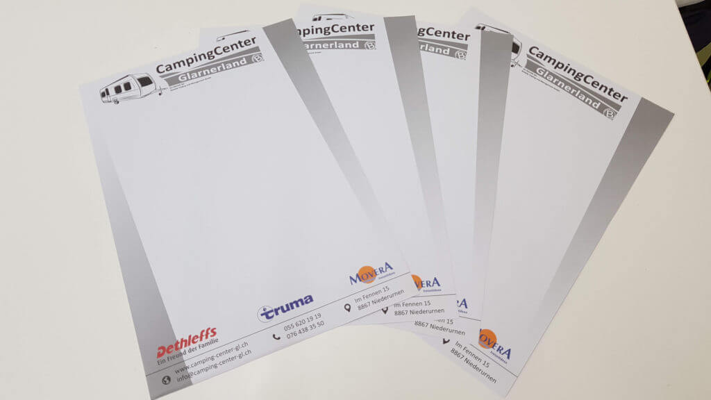 Drucksachen, Visitenkarten, Briefpapier, Poster, Plakat, Flyer, Falzflyer